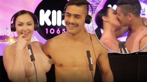Raunchy Kiis Fm Naked Dating Couple Told 'we Are Not