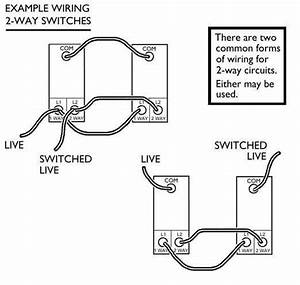 how to wire a light switch downlightscouk With single pole dimmer switch wiring diagram uk