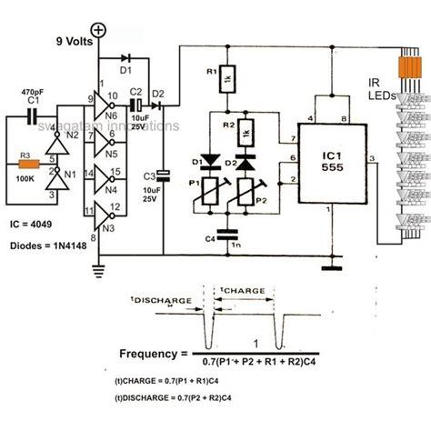 infra ir led flood light circuit diagram wiring schema blogs