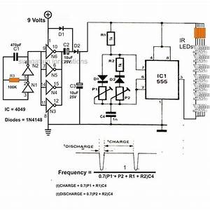 Infra Red Ir Led Flood Light Circuit Diagram