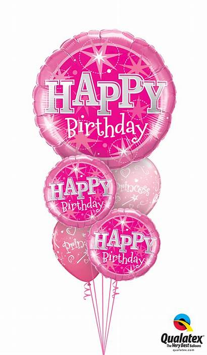 Pink Balloon Bouquet Birthday Balloons Bouquets Party