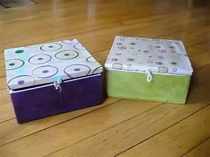 Boite Carton Rangement : achat de boite bijoux en carton boite bijoux originale atelier carton ~ Teatrodelosmanantiales.com Idées de Décoration