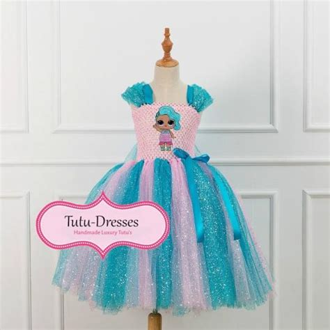 lol doll splash queen inspired dress handmade tutu dress