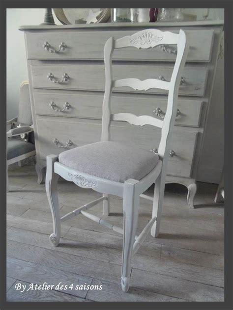 recouvrir des chaises 4 chaises style louis xv atelierdes4saisons patinées gris