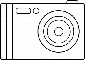 Camera Outline Clipart