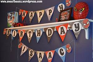 diy pennant banner template for your next party sweetbeanz With pennant banner with letters