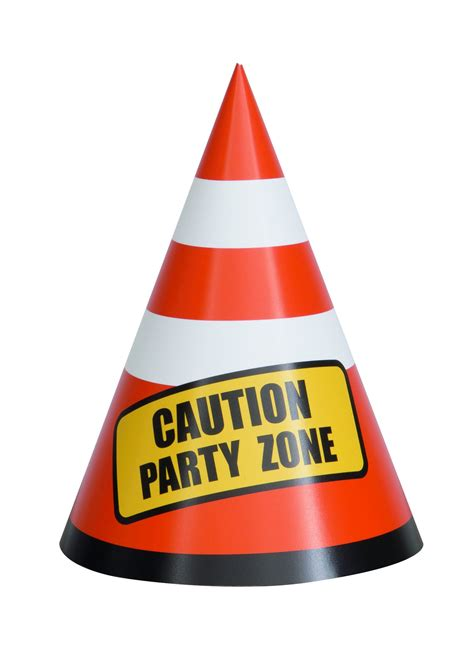 construction party cone hats partyspot