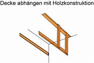 Decke Abhängen Anleitung Holz : decke abh ngen anleitung und tipps ~ Frokenaadalensverden.com Haus und Dekorationen