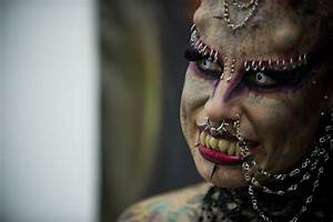 Vampire Woman Maria Hose Cristerna Is Special Guest At ...