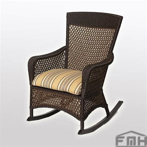 outdoor wicker rocking chair vintage furnishmyhome