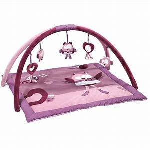 Tapis D éveil Original : mam 39 zelle bou tapis d 39 veil violet de sauthon baby d co tapis d 39 veil aubert ~ Teatrodelosmanantiales.com Idées de Décoration