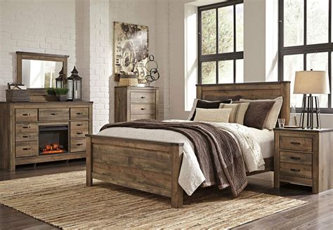 Bedroom Furniture Sets On Ebay by Furniture B446 Trinell Modern Or King Panel
