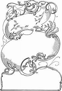 Victorian Clip Art - Ornamental Frame | Oh So Nifty ...