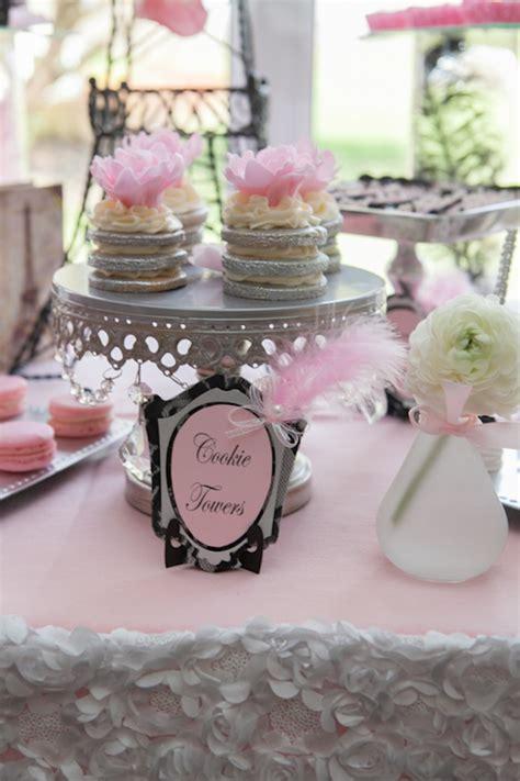 Kara's Party Ideas Pink Paris Themed Baby Shower