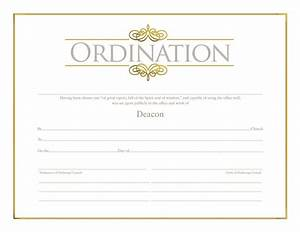 deacon ordination certificate ordination christian With deacon ordination certificate template