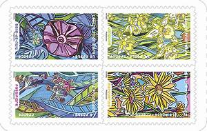 Poids Courrier Timbre : carnet fleurs foison 12 timbres autocollants boutique particuliers la poste ~ Medecine-chirurgie-esthetiques.com Avis de Voitures