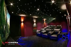 Cinema A La Maison : hocinema la salle de cin ma maison hydrus en d tail ~ Louise-bijoux.com Idées de Décoration