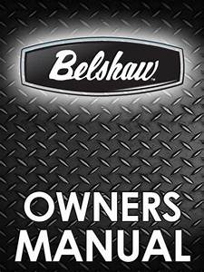 Belshaw C100 Automatic Electric Fryer Manual