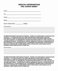 Sample confidential fax cover sheet 6 documents in word pdf for Fax cover sheet confidential information