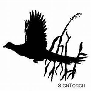 Pheasant silhouette | Silhouettes | Pinterest | Pheasant ...