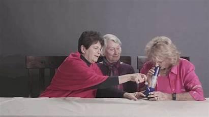 Weed Grandmas Getting Marijuana Gifs Smoke Granny