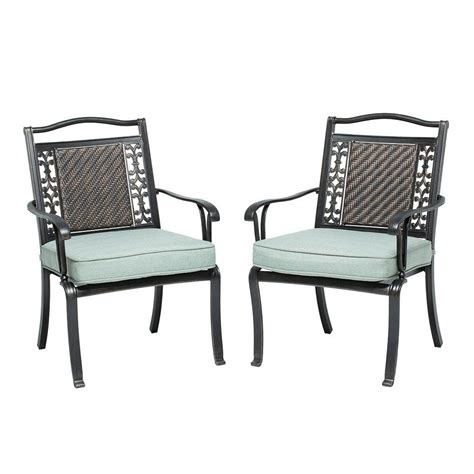martha stewart living bellaire patio dining chair 2 pack
