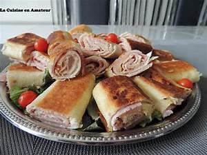 Recette Avec Tortillas Wraps : recette de roul s de wraps ~ Melissatoandfro.com Idées de Décoration
