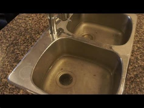 clogged drain   unclog  clogged kitchen sink easy