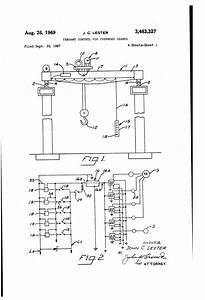 Patent Us3463327 - Pendant Control For Overhead Cranes