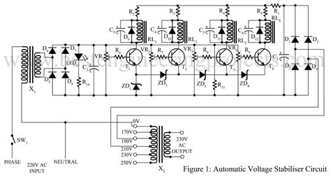 Automatic Voltage Stabilizer Circuit Best Engineering
