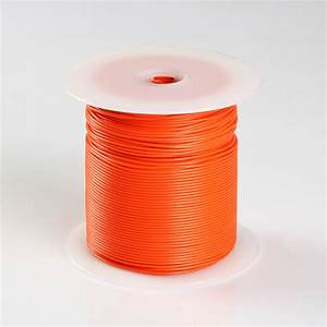500ft Orange High Performance Primary Wire 22 Gauge Awg