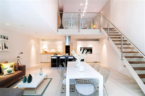 2 Storey Home Interior Design : Simple Glamour Of North London Townhouse By Lli Design