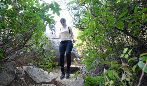 antharagange caves trekking  bangalore