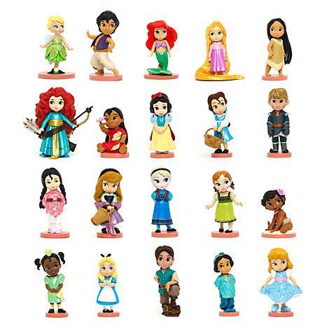 disney figuren kostüme disney animators collection deluxe figuren 20er set