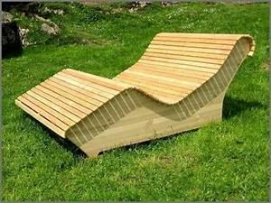Holz Zum Bauen : gartenliege zum selber bauen superb holz gartenliege ~ Lizthompson.info Haus und Dekorationen