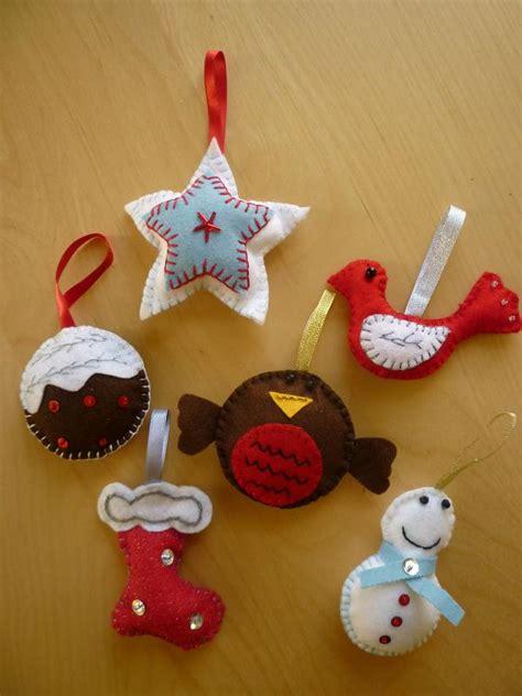 beautiful felt christmas decorations ideas decoration