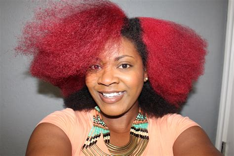 Red Hair Color How To Dye Natural Hair Red Curly Corner