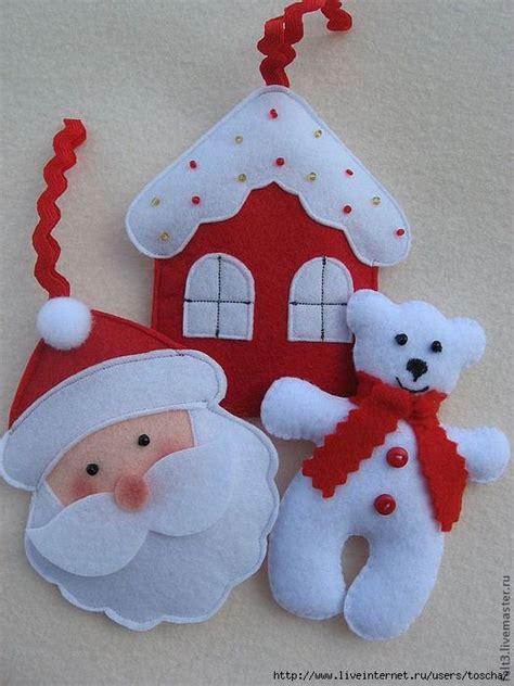 1717 best christmas felt designs images on pinterest