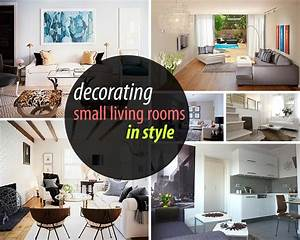 Marvelous Decorating Ideas For A Small Living Room About ...
