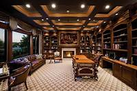 lovely luxury home office design 40 Gorgeous Ideas for a Sizzling Home Office with Fireplace