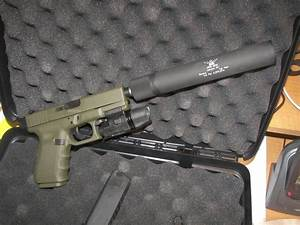 OD Glock 19 Suppressed | Shooting-Guns | Pinterest
