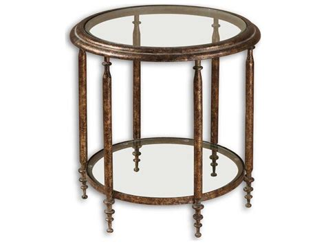 Uttermost Leilani 22.5 Round Accent Table