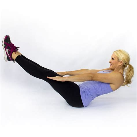 Boat Pose Core Exercise by Motivation Battle The Bulge 14 Challenging Core