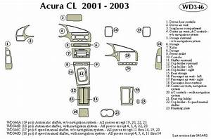 Wiring Diagram For 2001 Acura Cl