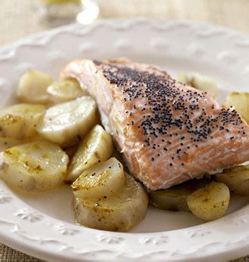 topinambour recette cuisine pavés de saumon aux topinambours les meilleures recettes