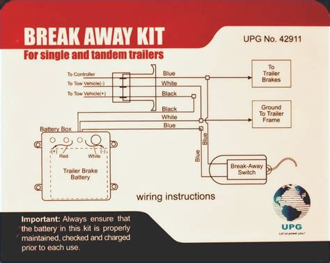trailer breakaway switch wiring diagram moesappaloosas