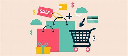 Shopping Cart Ecommerce Sunnet Commerce Graphic Process