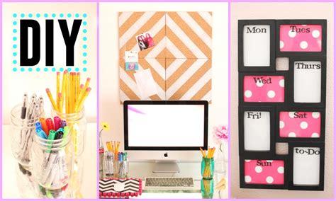 Diy Bedroom Decor And Organization by Diy Back To School Room Decor Organization Pink And