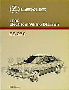 1990 Lexus Es 250 Wiring Diagram Manual 90 Es250