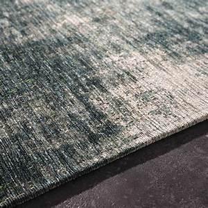 Tapis En Coton : tapis en coton bleu 140 x 200 cm feel azur maisons du monde ~ Nature-et-papiers.com Idées de Décoration